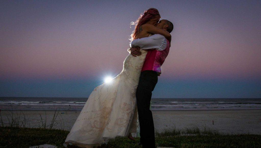 Beach Wedding In New Smyrna